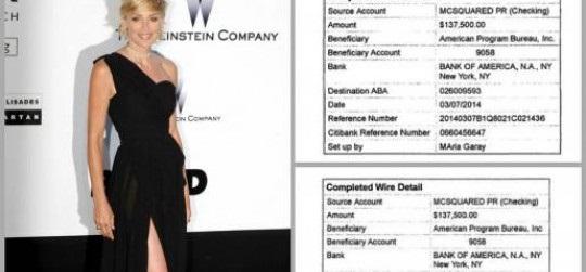 Sharon Stone hired activist