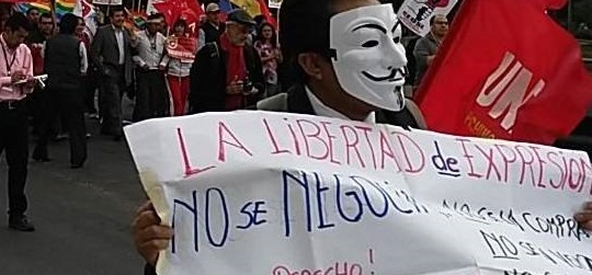 Ecuador protests image