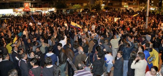 Protests in Ecuador - Ecuador political news