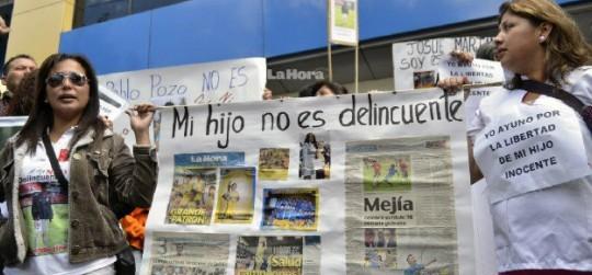 Anti-Correa protest - Ecuador political news