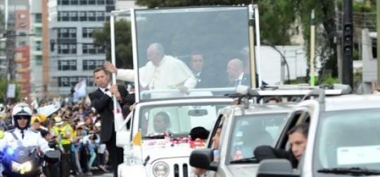 Ecuador Pope Francis - Ecuador political news
